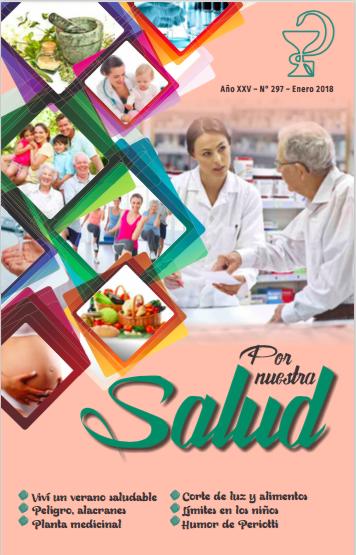 Revista Por Nuestra Salud Enero 2018 Nro 297