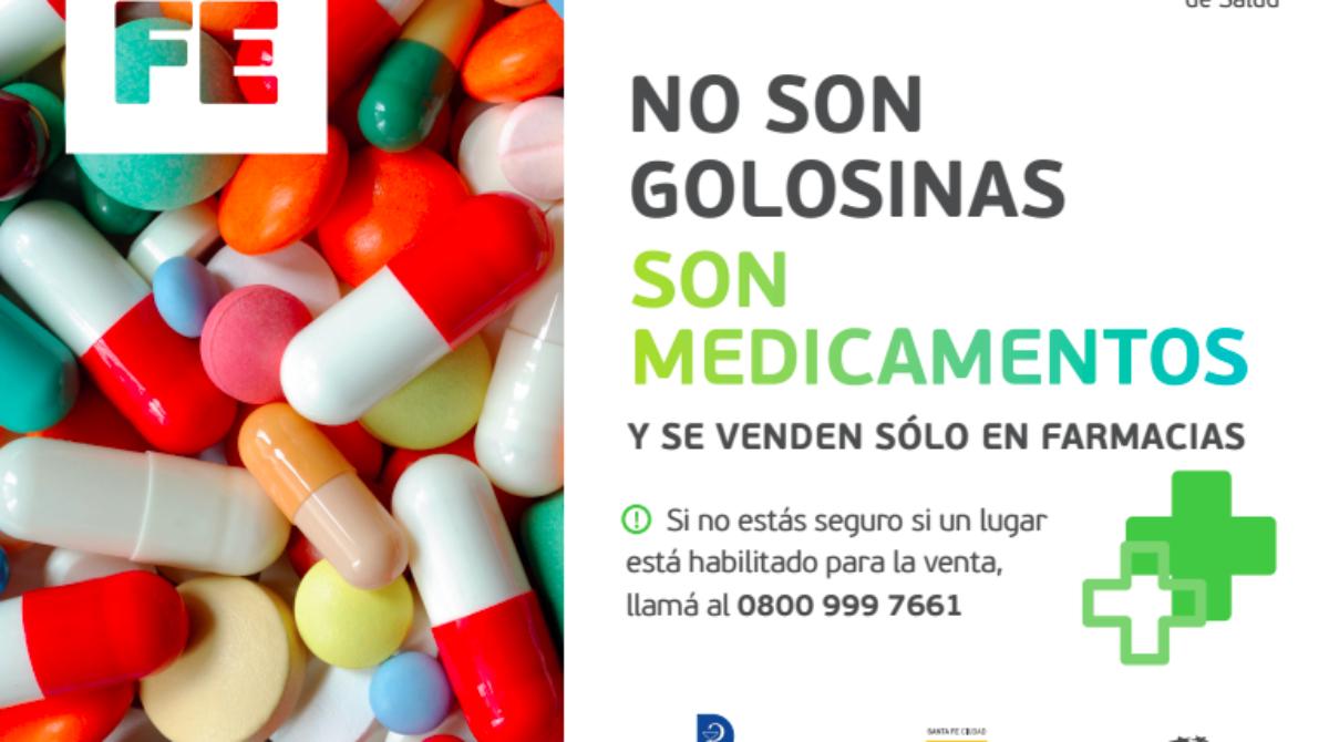 """Campaña """"Los medicamentos no son una golosina"""""""