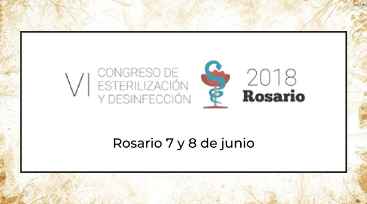 VI Congreso de Esterilización y Desinfección – 2018 Rosario