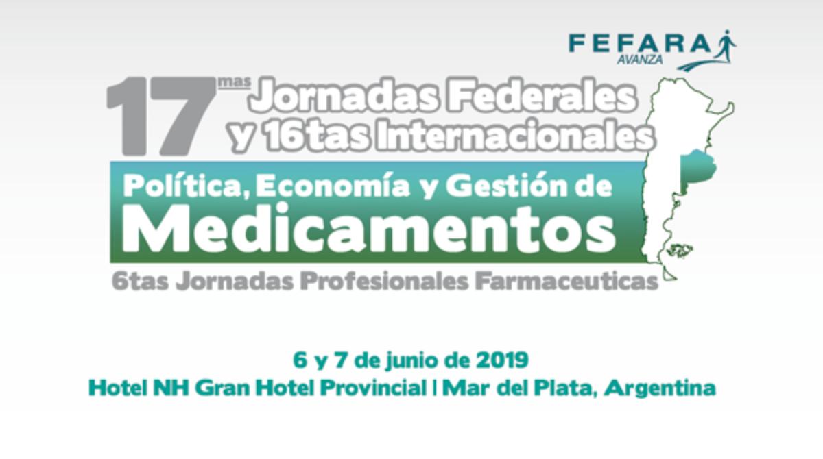 17 Jornadas Federales e Internacionales dePolítica, Economía y Gestión de Medicamentos.