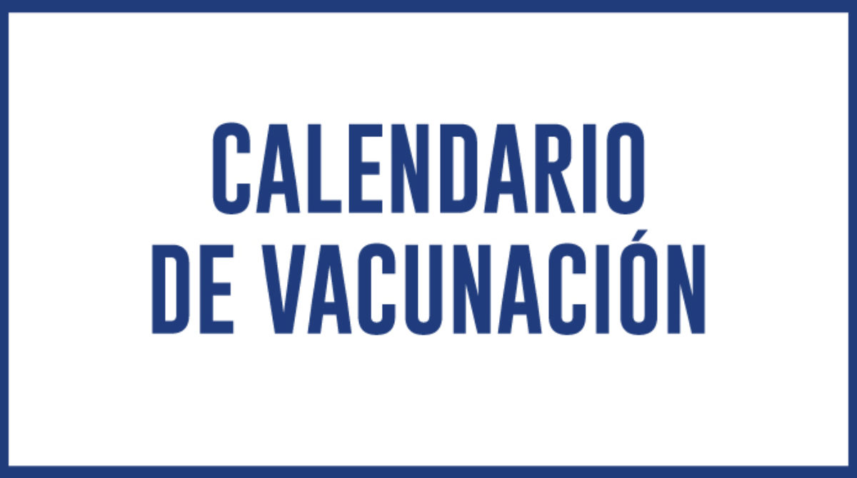 Calendario de Vacunación