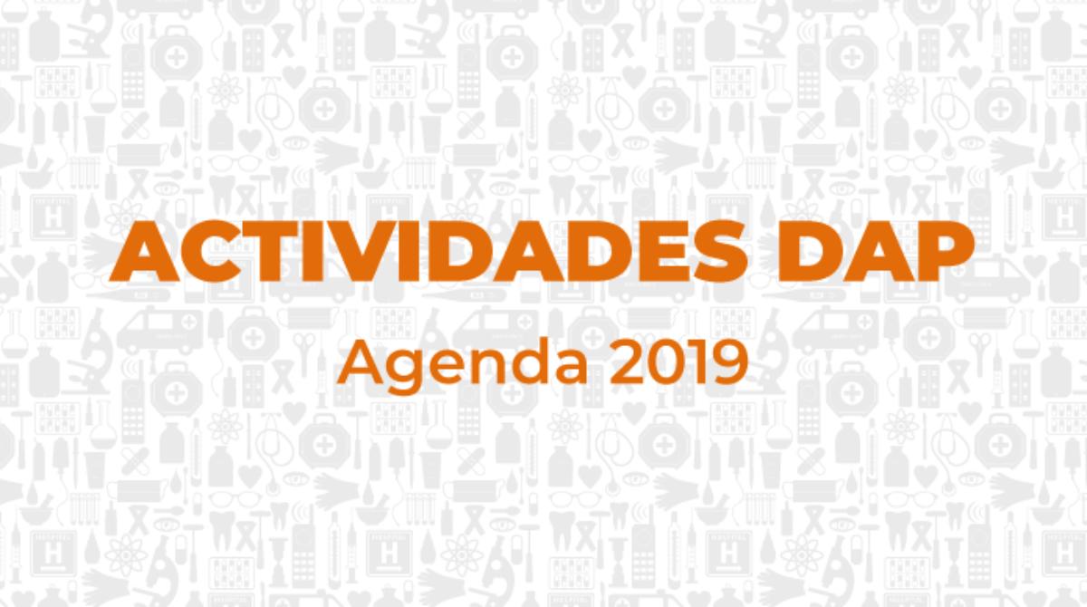 Agenda Actividades Departamento  Actualización Profesional- 2019