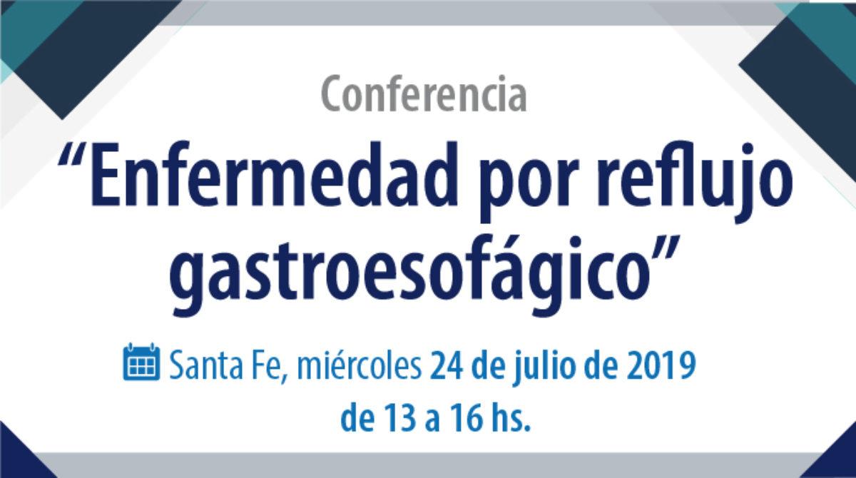 """Conferencia """"Enfermedad por reflujo gastroesofágico"""""""