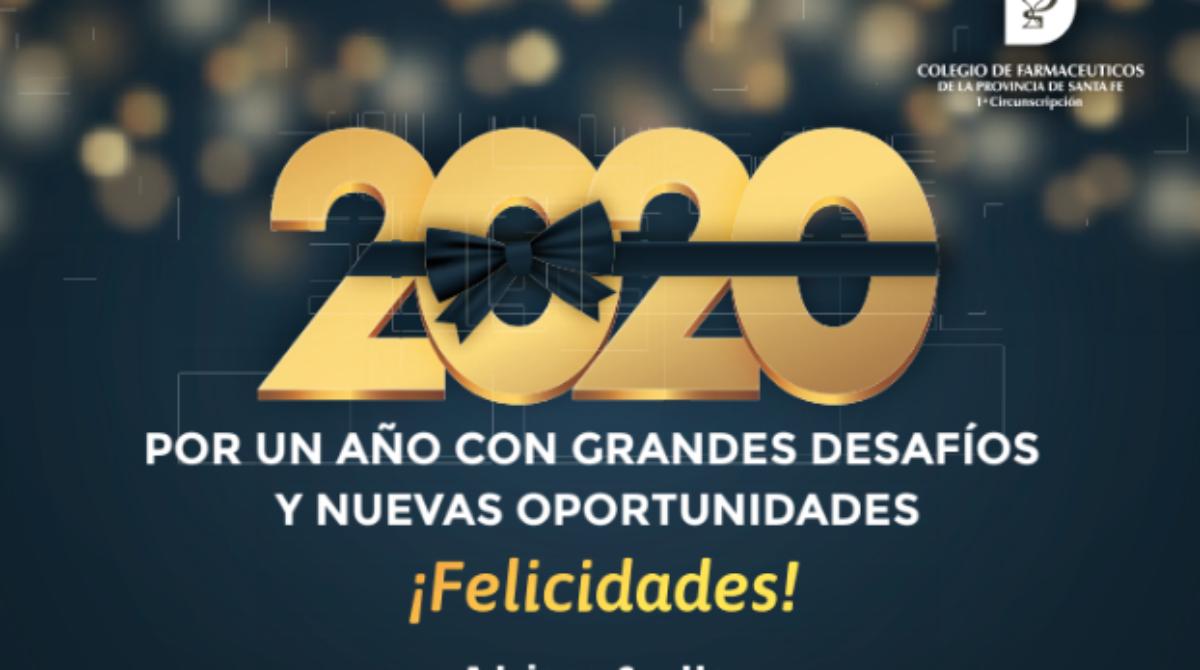 ¡Gracias por acompañarnos! Por un año con grandes desafíos y nuevas oportunidades