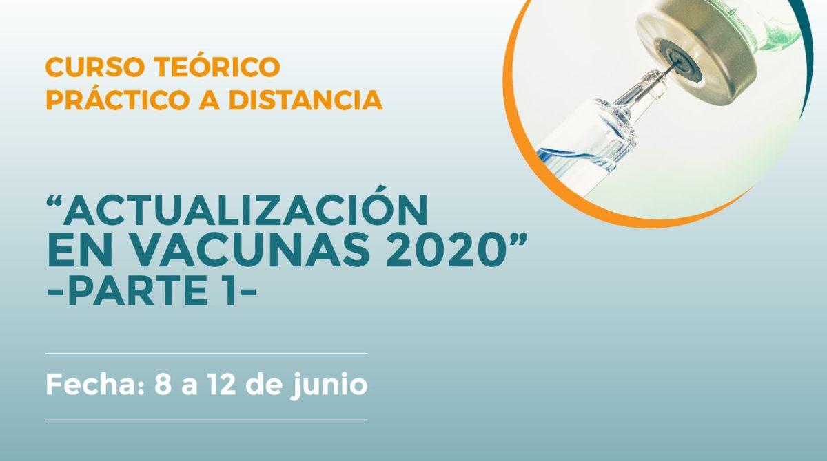 """Curso """"Actualización en Vacunas 2020. Parte 1"""""""